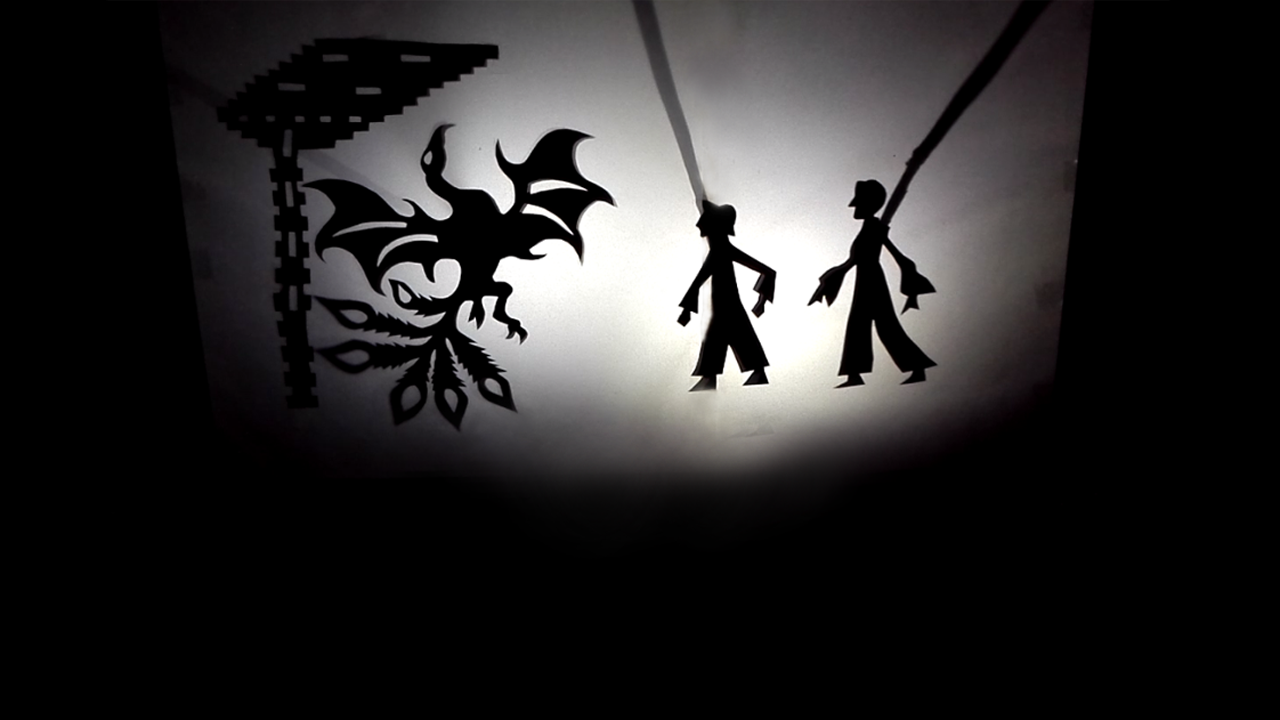 Teatro d'ombre: Paper Dragon