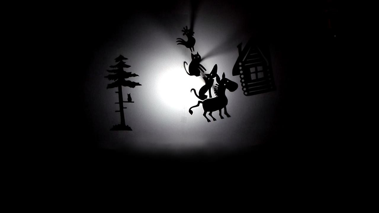 Teatro d'ombre: I Musicanti